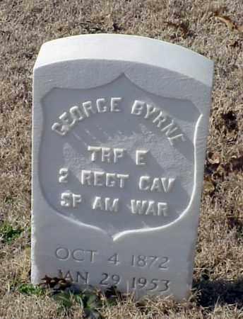 BYRNE (VETERAN SAW), GEORGE - Pulaski County, Arkansas | GEORGE BYRNE (VETERAN SAW) - Arkansas Gravestone Photos