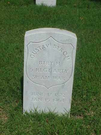 BYROM (VETERAN SAW), GUSTAV - Pulaski County, Arkansas | GUSTAV BYROM (VETERAN SAW) - Arkansas Gravestone Photos