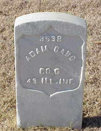 BABO (VETERAN UNION), ADAM - Pulaski County, Arkansas | ADAM BABO (VETERAN UNION) - Arkansas Gravestone Photos