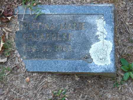 CALABRESE, CHRISTINA MARIE - Pulaski County, Arkansas | CHRISTINA MARIE CALABRESE - Arkansas Gravestone Photos