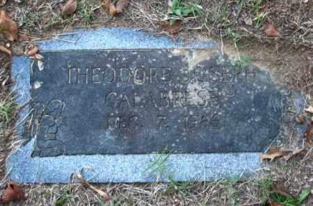 CALABRESE, THEODORE JOSEPH - Pulaski County, Arkansas | THEODORE JOSEPH CALABRESE - Arkansas Gravestone Photos