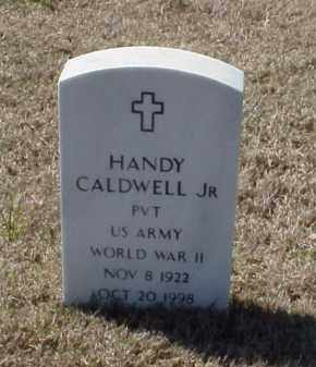 CALDWELL, JR (VETERAN WWII), HANDY - Pulaski County, Arkansas | HANDY CALDWELL, JR (VETERAN WWII) - Arkansas Gravestone Photos