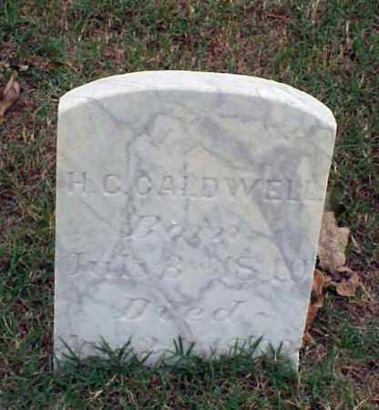 CALDWELL (VETERAN CSA), H C - Pulaski County, Arkansas | H C CALDWELL (VETERAN CSA) - Arkansas Gravestone Photos