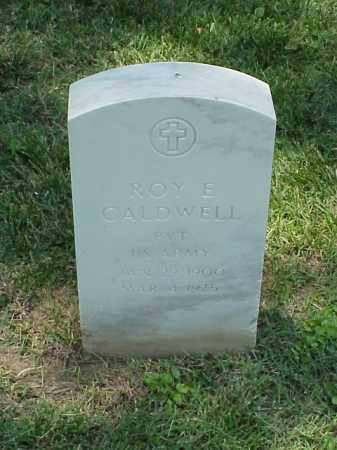 CALDWELL (VETERAN WWI), ROY E - Pulaski County, Arkansas | ROY E CALDWELL (VETERAN WWI) - Arkansas Gravestone Photos