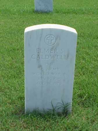 CALDWELL (VETERAN WWII), ELMER S - Pulaski County, Arkansas | ELMER S CALDWELL (VETERAN WWII) - Arkansas Gravestone Photos