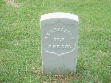 CALHOUN (VETERAN UNION), B B B - Pulaski County, Arkansas | B B B CALHOUN (VETERAN UNION) - Arkansas Gravestone Photos