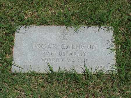 CALHOUN (VETERAN WWII), EDGAR - Pulaski County, Arkansas | EDGAR CALHOUN (VETERAN WWII) - Arkansas Gravestone Photos