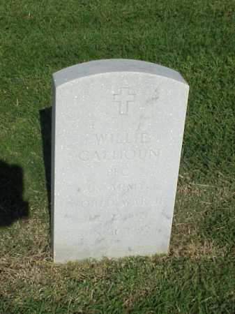 CALHOUN (VETERAN WWII), WILLIE - Pulaski County, Arkansas | WILLIE CALHOUN (VETERAN WWII) - Arkansas Gravestone Photos