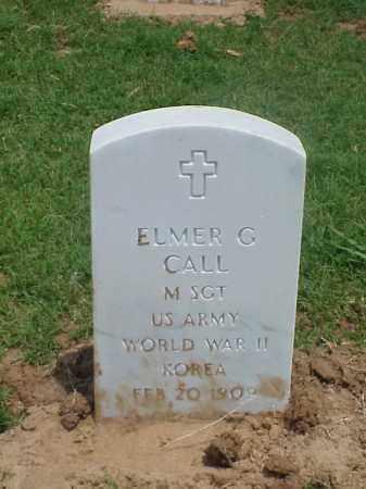 CALL (VETERAN 2 WARS), ELMER G - Pulaski County, Arkansas | ELMER G CALL (VETERAN 2 WARS) - Arkansas Gravestone Photos