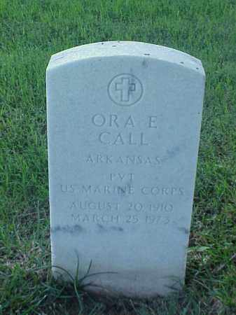 CALL (VETERAN), ORA E - Pulaski County, Arkansas | ORA E CALL (VETERAN) - Arkansas Gravestone Photos