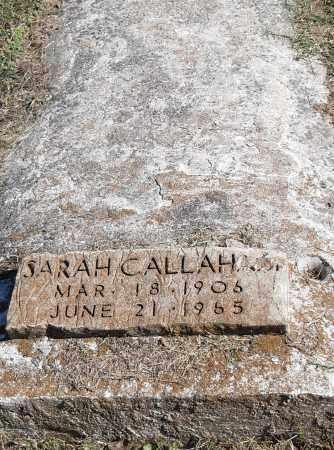CALLAHAN, SARAH - Pulaski County, Arkansas | SARAH CALLAHAN - Arkansas Gravestone Photos