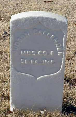 CALLENDER (VETERAN UNION), JUDSON - Pulaski County, Arkansas | JUDSON CALLENDER (VETERAN UNION) - Arkansas Gravestone Photos
