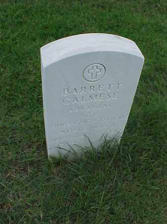 CALMESE (VETERAN WWII), BARRETT - Pulaski County, Arkansas | BARRETT CALMESE (VETERAN WWII) - Arkansas Gravestone Photos