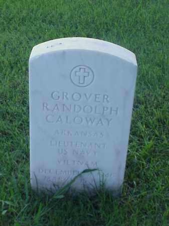 CALOWAY (VETERAN VIET), GROVER RANDOLPH - Pulaski County, Arkansas | GROVER RANDOLPH CALOWAY (VETERAN VIET) - Arkansas Gravestone Photos
