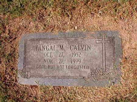 CALVIN, TANGAI M - Pulaski County, Arkansas | TANGAI M CALVIN - Arkansas Gravestone Photos
