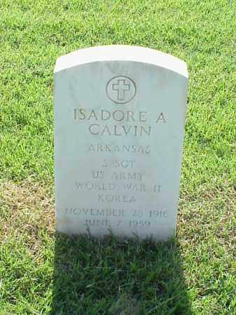 CALVIN (VETERAN 2 WARS), ISADORE A - Pulaski County, Arkansas | ISADORE A CALVIN (VETERAN 2 WARS) - Arkansas Gravestone Photos