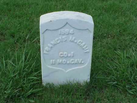 CAMP (VETERAN UNION), FRANCIS M - Pulaski County, Arkansas | FRANCIS M CAMP (VETERAN UNION) - Arkansas Gravestone Photos