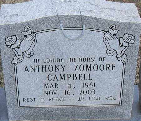 CAMPBELL, ANTHONY ZOMOORE - Pulaski County, Arkansas | ANTHONY ZOMOORE CAMPBELL - Arkansas Gravestone Photos