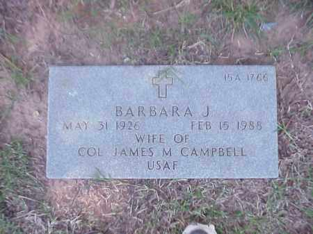 CAMPBELL, BARBARA J - Pulaski County, Arkansas | BARBARA J CAMPBELL - Arkansas Gravestone Photos