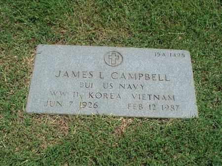 CAMPBELL (VETERAN 3 WARS), JAMES LAVON - Pulaski County, Arkansas | JAMES LAVON CAMPBELL (VETERAN 3 WARS) - Arkansas Gravestone Photos