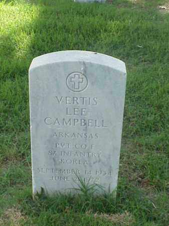 CAMPBELL (VETERAN KOR), VERTIS LEE - Pulaski County, Arkansas | VERTIS LEE CAMPBELL (VETERAN KOR) - Arkansas Gravestone Photos
