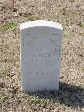 CAMPBELL (VETERAN UNION), MALOCHI V - Pulaski County, Arkansas | MALOCHI V CAMPBELL (VETERAN UNION) - Arkansas Gravestone Photos