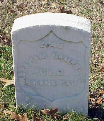 CAMPBELL (VETERAN UNION), ABRAHAM - Pulaski County, Arkansas | ABRAHAM CAMPBELL (VETERAN UNION) - Arkansas Gravestone Photos