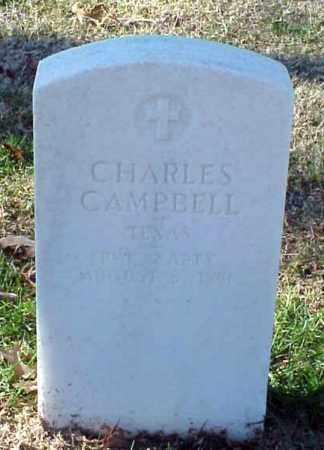 CAMPBELL (VETERAN UNION), CHARLES - Pulaski County, Arkansas | CHARLES CAMPBELL (VETERAN UNION) - Arkansas Gravestone Photos