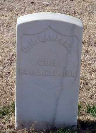 CAMPBELL (VETERAN UNION), DAVID M - Pulaski County, Arkansas | DAVID M CAMPBELL (VETERAN UNION) - Arkansas Gravestone Photos