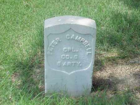 CAMPBELL (VETERAN UNION), PETER - Pulaski County, Arkansas | PETER CAMPBELL (VETERAN UNION) - Arkansas Gravestone Photos