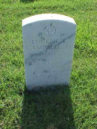 CAMPBELL, JR (VETERAN WWI), EUGENE K - Pulaski County, Arkansas | EUGENE K CAMPBELL, JR (VETERAN WWI) - Arkansas Gravestone Photos