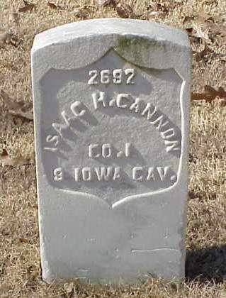CANNON (VETERAN UNION), ISAAC H - Pulaski County, Arkansas | ISAAC H CANNON (VETERAN UNION) - Arkansas Gravestone Photos