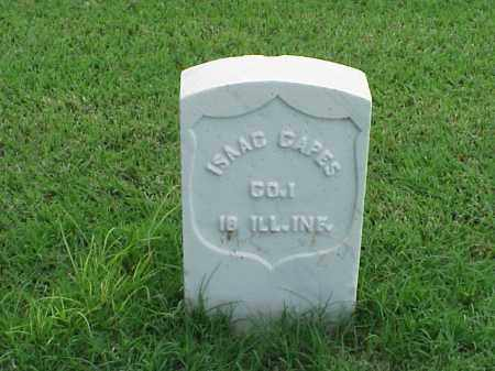 CAPES (VETERAN UNION), ISAAC - Pulaski County, Arkansas | ISAAC CAPES (VETERAN UNION) - Arkansas Gravestone Photos
