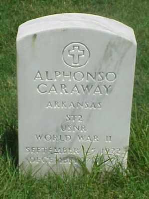 CARAWAY (VETERAN WWII), ALPHONSO - Pulaski County, Arkansas | ALPHONSO CARAWAY (VETERAN WWII) - Arkansas Gravestone Photos