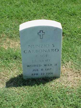 CARBONARO (VETERAN WWII), NUNZIO S - Pulaski County, Arkansas | NUNZIO S CARBONARO (VETERAN WWII) - Arkansas Gravestone Photos