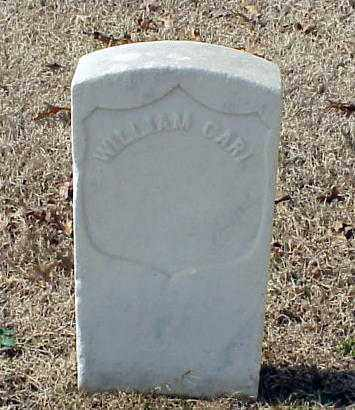 CARL (VETERAN UNION), WILLIAM - Pulaski County, Arkansas | WILLIAM CARL (VETERAN UNION) - Arkansas Gravestone Photos