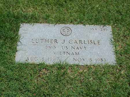 CARLISLE (VETERAN VIET), LUTHER J - Pulaski County, Arkansas | LUTHER J CARLISLE (VETERAN VIET) - Arkansas Gravestone Photos