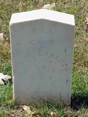 CARLOSS (VETERAN CSA), WILLIAM W - Pulaski County, Arkansas | WILLIAM W CARLOSS (VETERAN CSA) - Arkansas Gravestone Photos