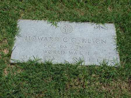 CARLSON (VETERAN WWII), HOWARD C - Pulaski County, Arkansas | HOWARD C CARLSON (VETERAN WWII) - Arkansas Gravestone Photos