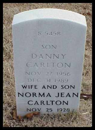 CARLTON (VETERAN), DANNY - Pulaski County, Arkansas | DANNY CARLTON (VETERAN) - Arkansas Gravestone Photos