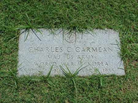 CARMEAN (VETERAN 2 WARS), CHARLES CARL - Pulaski County, Arkansas | CHARLES CARL CARMEAN (VETERAN 2 WARS) - Arkansas Gravestone Photos