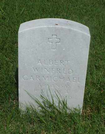 CARMICHAEL (VETERAN), ALBERT WINFRED - Pulaski County, Arkansas | ALBERT WINFRED CARMICHAEL (VETERAN) - Arkansas Gravestone Photos