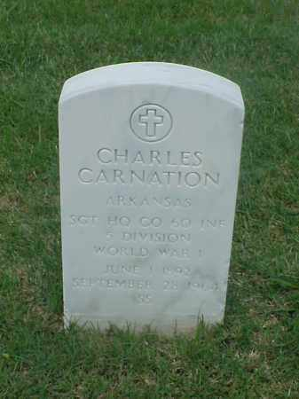 CARNATION (VETERAN WWI), CHARLES - Pulaski County, Arkansas | CHARLES CARNATION (VETERAN WWI) - Arkansas Gravestone Photos