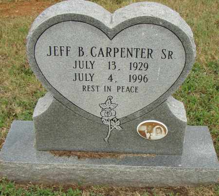 CARPENTER, SR., JEFF B. - Pulaski County, Arkansas | JEFF B. CARPENTER, SR. - Arkansas Gravestone Photos