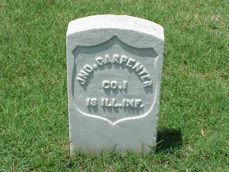 CARPENTER (VETERAN UNION), JOHN - Pulaski County, Arkansas | JOHN CARPENTER (VETERAN UNION) - Arkansas Gravestone Photos