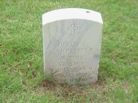 CARPENTER (VETERAN WWII), IRVIN L - Pulaski County, Arkansas   IRVIN L CARPENTER (VETERAN WWII) - Arkansas Gravestone Photos