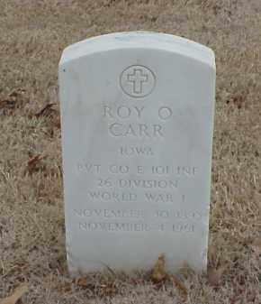 CARR  (VETERAN WWI), ROY O - Pulaski County, Arkansas | ROY O CARR  (VETERAN WWI) - Arkansas Gravestone Photos