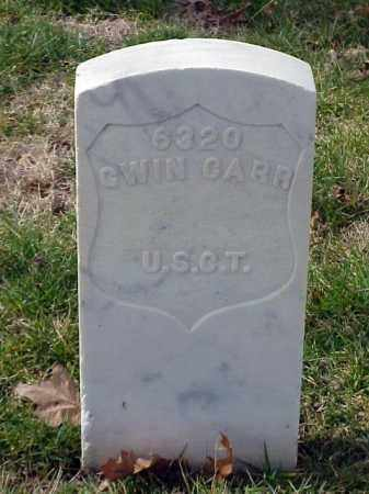 CARR (VETERAN UNION), GWIN - Pulaski County, Arkansas | GWIN CARR (VETERAN UNION) - Arkansas Gravestone Photos