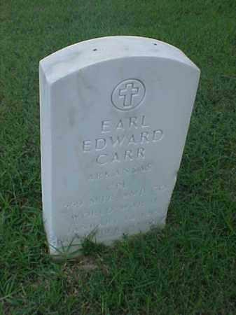 CARR (VETERAN WWII), EARL EDWARD - Pulaski County, Arkansas | EARL EDWARD CARR (VETERAN WWII) - Arkansas Gravestone Photos