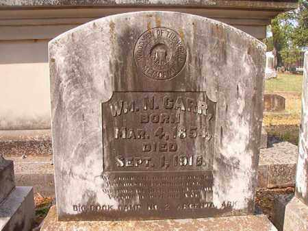 CARR, WILLIAM N - Pulaski County, Arkansas | WILLIAM N CARR - Arkansas Gravestone Photos